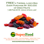 Promo Dried Fruits selama Februari 2015