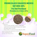 Promo Organik Black Chiaseed 500g @2bh