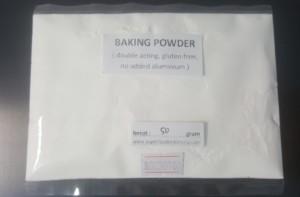 Baking Powder Double Acting n Gluten free ( no added aluminium ) 50gr